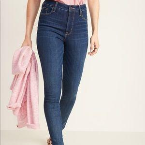 NIB Old Navy high-waisted Rockstar Jeans